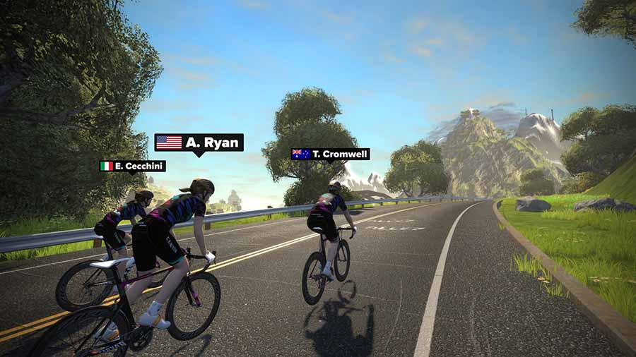 Zwift virtual PrimaFondo